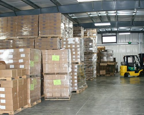 Warehousing and Storage offered